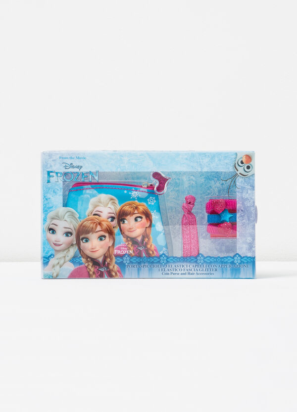 Frozen bag, hair elastics and headband set | OVS