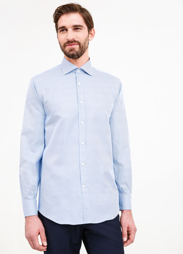 Formal shirt with micro pattern | OVS