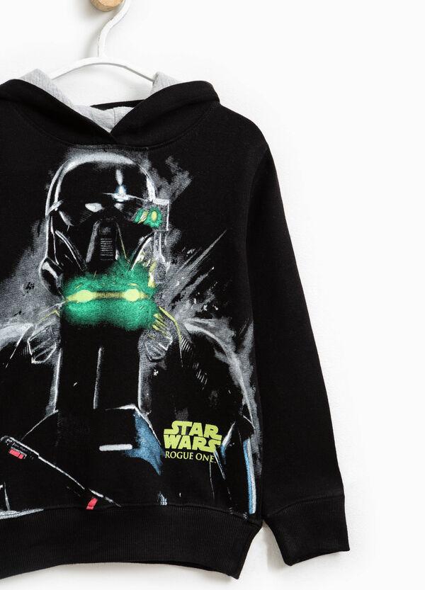 Star Wars maxi print cotton sweatshirt | OVS