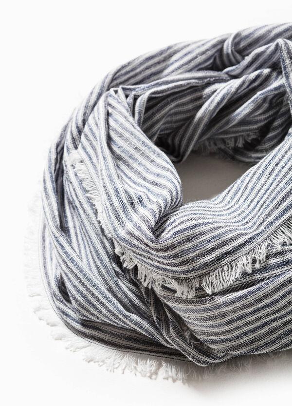 Cubrecuellos de rayas en algodón 100% G&H | OVS