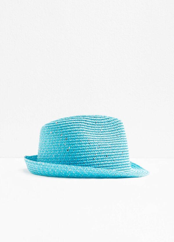 Cappello a falda larga con paillettes | OVS