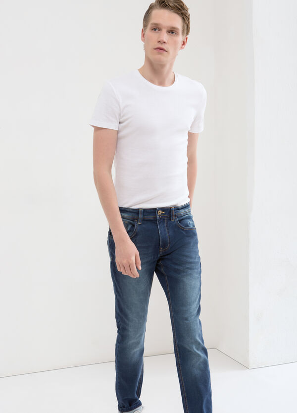 Jeans stretch slim fit | OVS