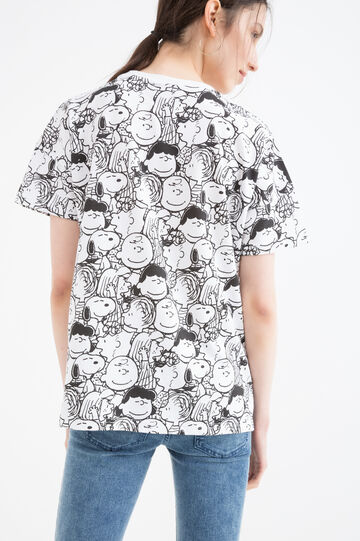 Cotton blend Peanuts T-shirt, White, hi-res