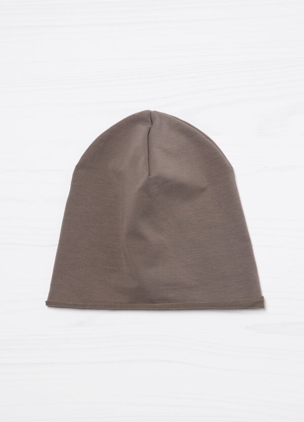 Solid colour cotton beanie cap | OVS