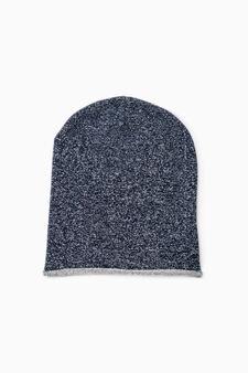 Cappello a cuffia cotone, Blu, hi-res