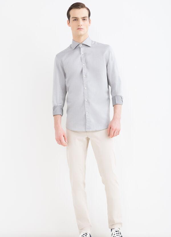 Camicia regular fit in cotone | OVS