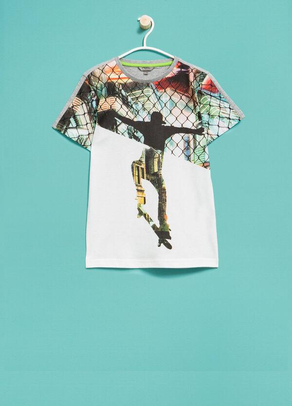 T-shirt mélange maxi stampa | OVS
