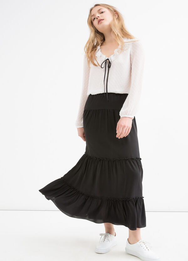 Long stretch skirt | OVS