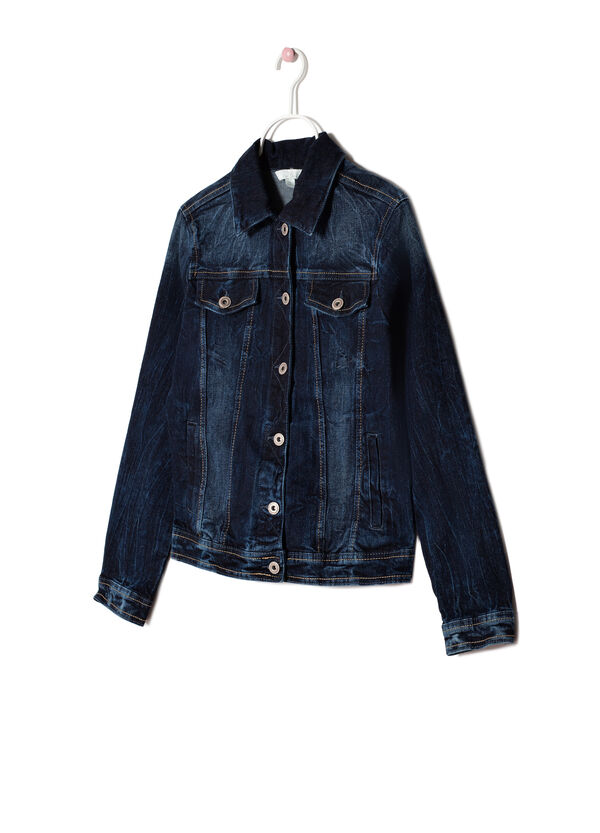 Medium wash denim jacket | OVS