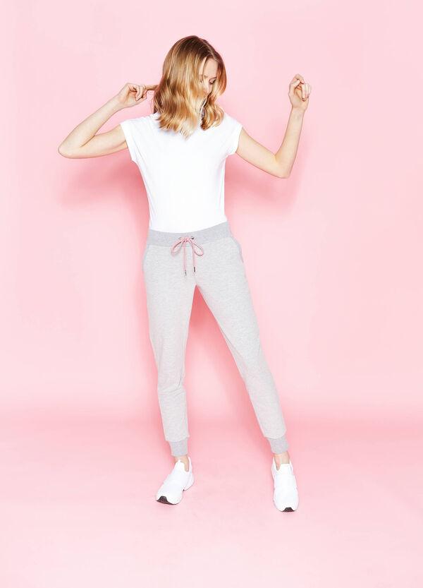 Pantaloni tuta in cotone stretch | OVS