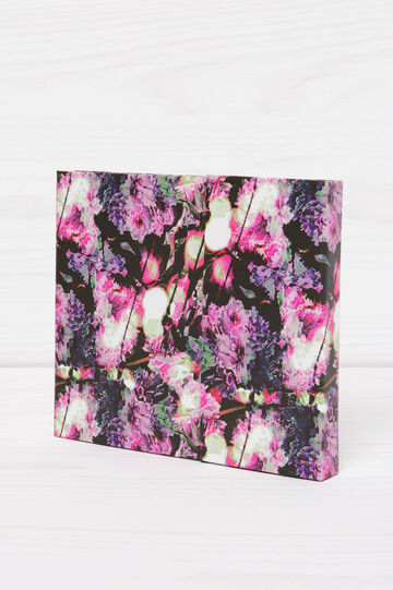 Weekly organiser with floral pattern, Multicolour, hi-res