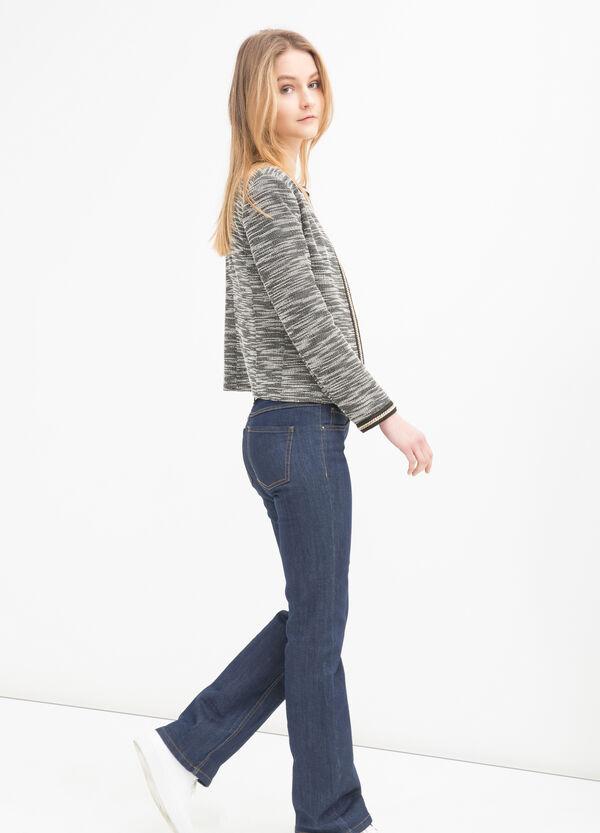 Blazer misto cotone stretch | OVS