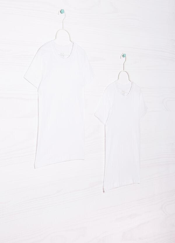 Set due t-shirt cotone tinta unita   OVS