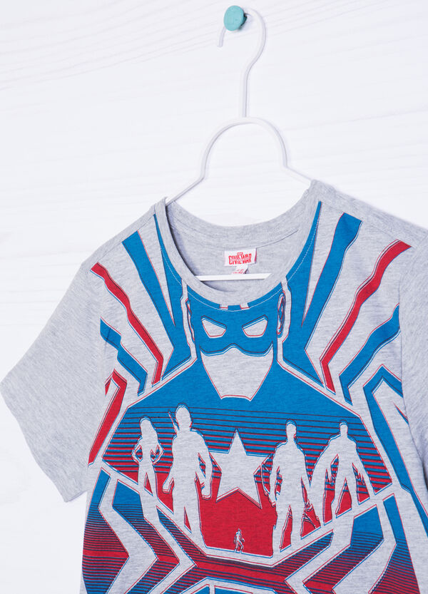 Marvel printed T-shirt in 100% cotton | OVS