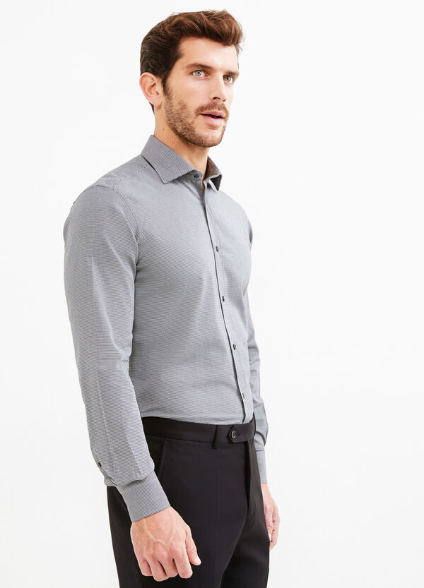 Camicia formale regular fit fantasia | OVS