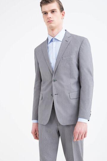 100% cotton, regular-fit jacket