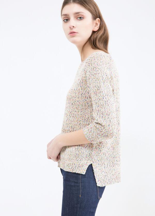 100% cotton pullover. | OVS