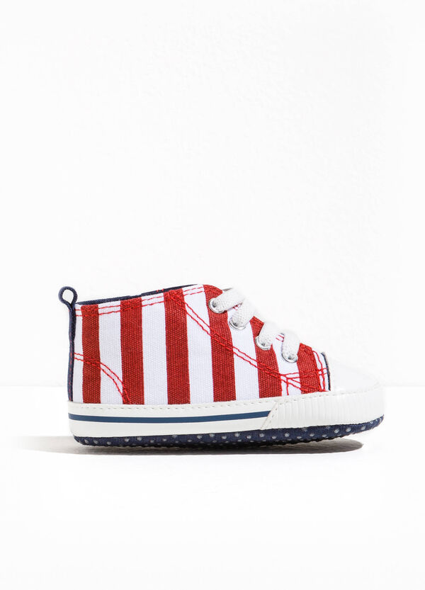 High-top patterned sneakers | OVS