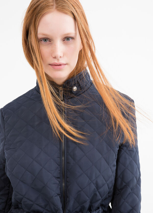 Solid colour quilted Curvy jacket | OVS