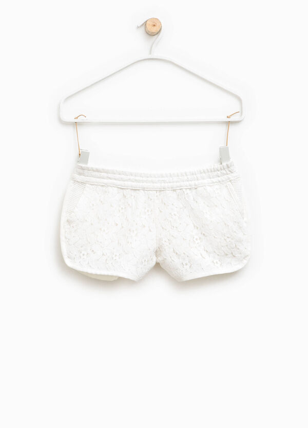 Lace shorts with pockets | OVS
