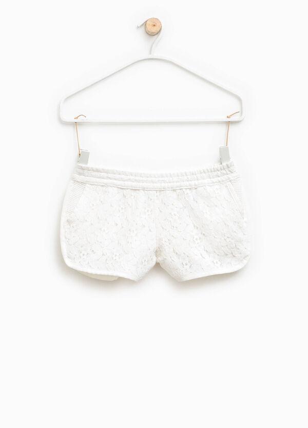 Shorts in pizzo con tasche | OVS
