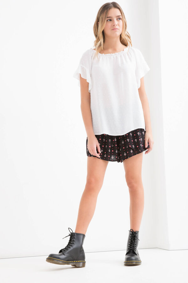 T-shirt viscosa fantasia pois Teen | OVS