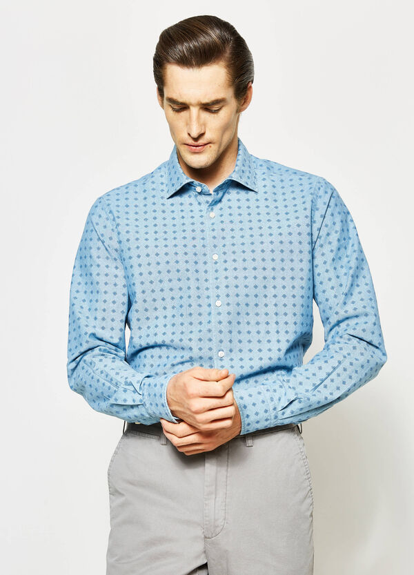 Slim-fit Rumford floral shirt | OVS