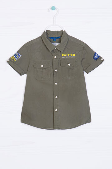 Camicia puro cotone con stampa