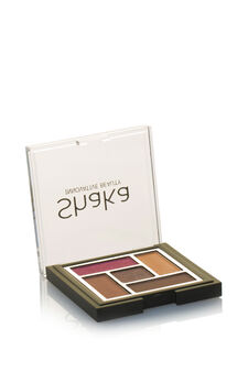 Palette ombretti composta da cinque colori dai finish diversi: mat, satin, pearly e metal. Crea il tuo look mixando effetti diversi., Wine Purple, hi-res