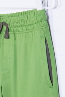 100% cotton outfit with drawstring, Green, hi-res