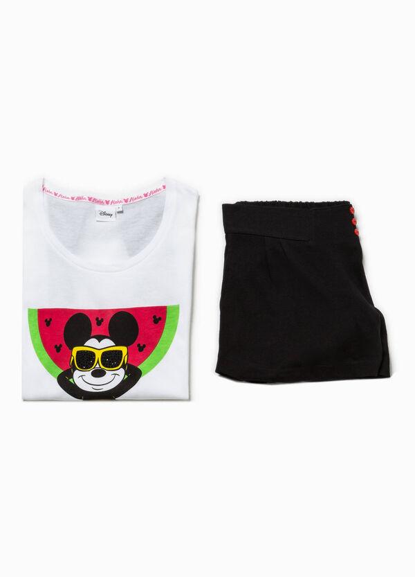 Mickey Mouse print pyjamas   OVS