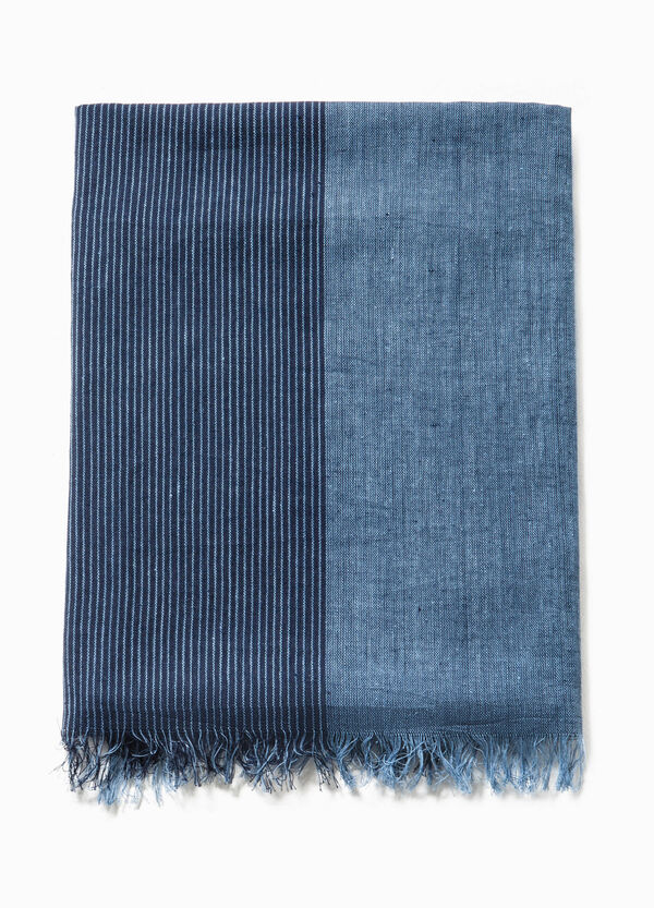Two-tone scarf in cotton | OVS