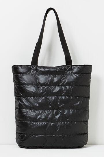 Cross body bag with handle., Black, hi-res