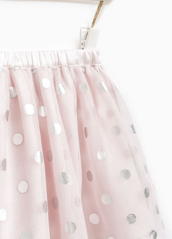 Gonna in tulle fantasia a pois | OVS