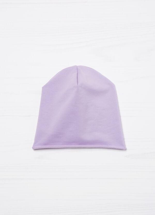 Solid colour cotton beanie cap | OVS