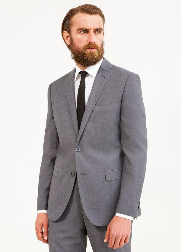 Elegant, regular-fit, solid colour suit   OVS