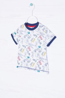 100% cotton Bugs Bunny T-shirt, White, hi-res