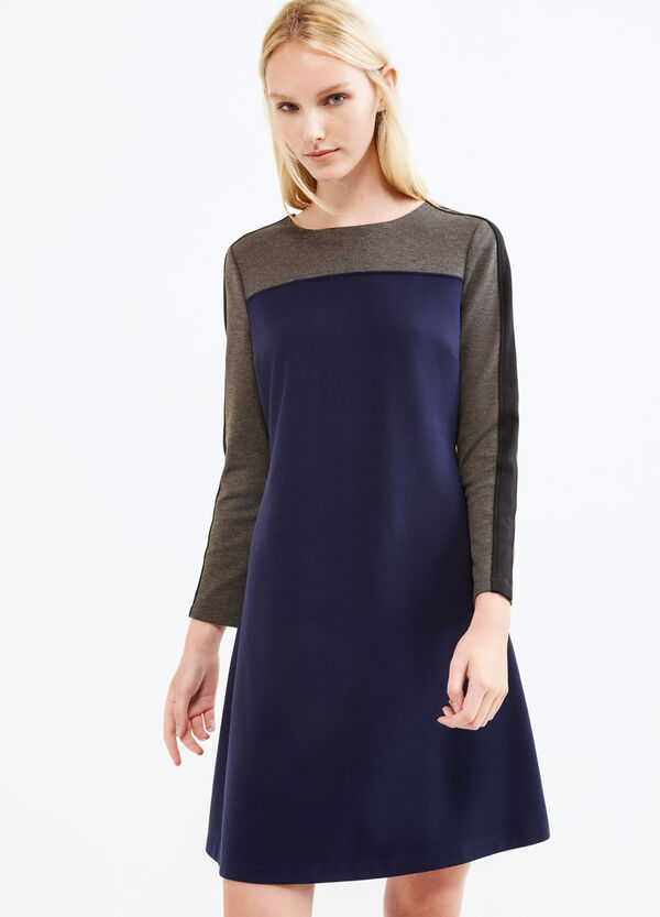Stretch viscose blend dress | OVS