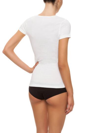 T-shirt Under Tech, Cream White, hi-res