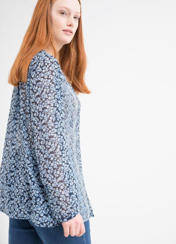 Curvy patterned blouse | OVS