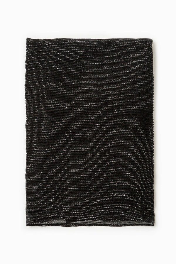 Scarf with striped weave | OVS