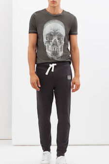 G&H regular fit joggers, Ash Grey, hi-res