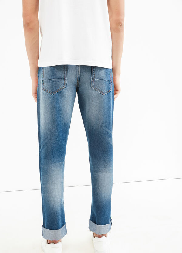 Regular fit jeans with worn effect | OVS