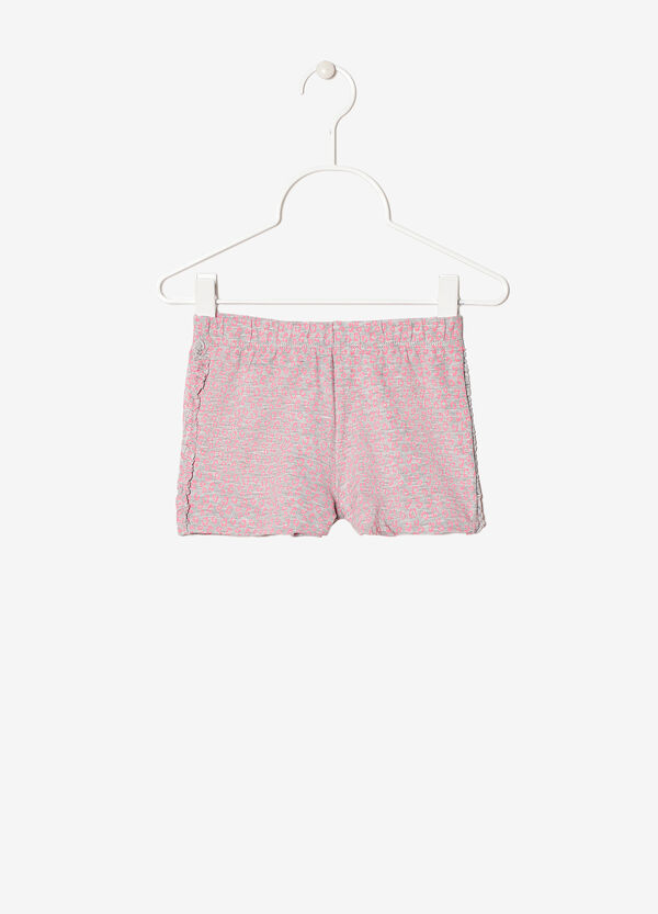Stretch shorts with ruches | OVS