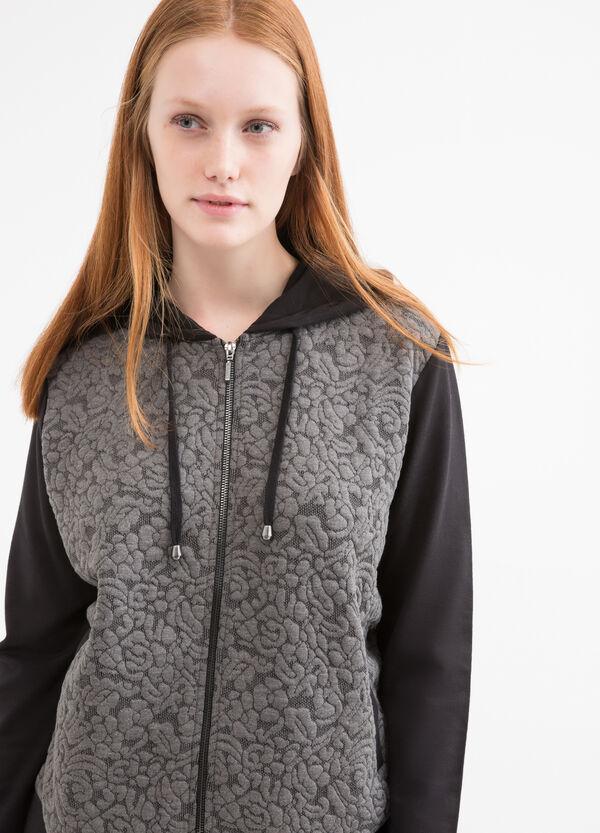 Patterned Curvy hoodie | OVS