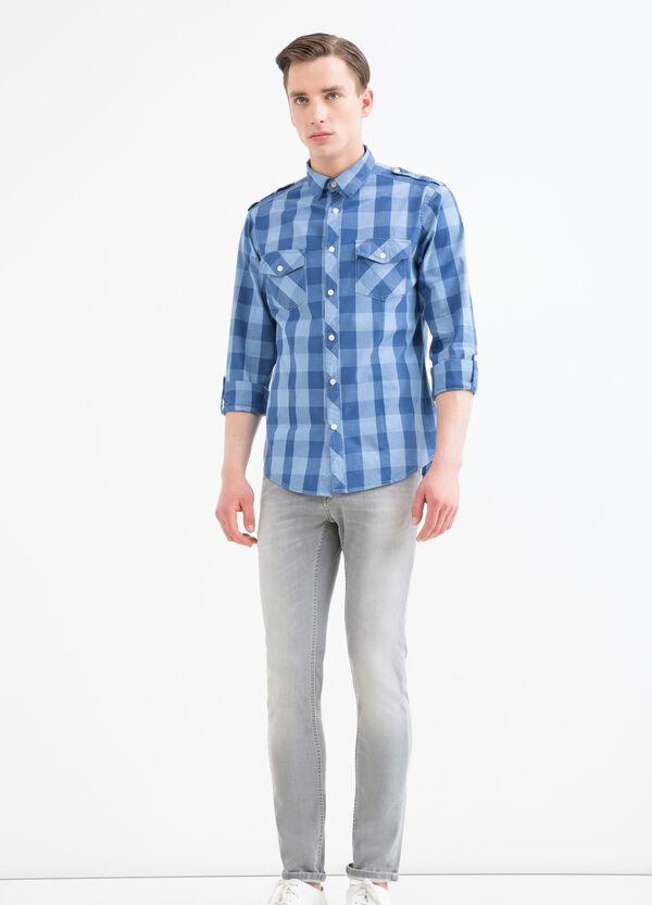 Camicia puro cotone a quadri G&H | OVS
