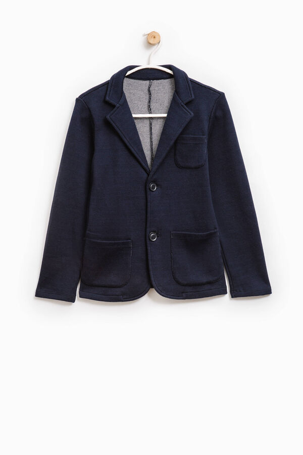 Elegant wool jacket with two buttons | OVS