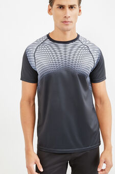 OVS Active Sport Training T-shirt, Graphite Grey, hi-res