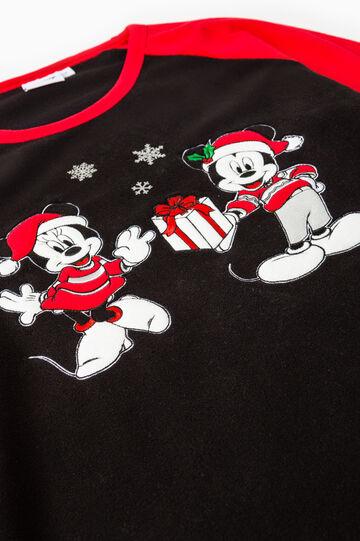 Pigiama pile Minnie e Mickey Mouse, Nero/Rosso, hi-res