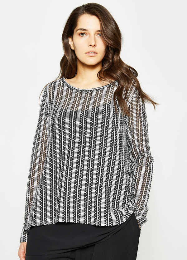 T-shirt con top interno Curvy | OVS